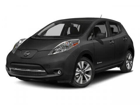 2016 Nissan LEAF for sale at BEAMAN TOYOTA - Beaman Buick GMC in Nashville TN