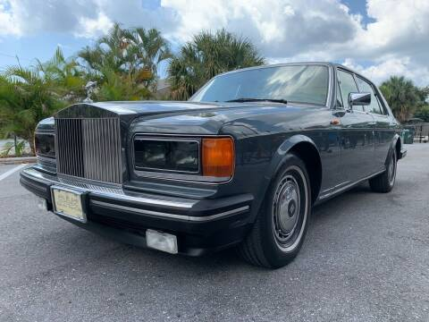 1993 Rolls-Royce Silver Spur for sale at American Classics Autotrader LLC in Pompano Beach FL