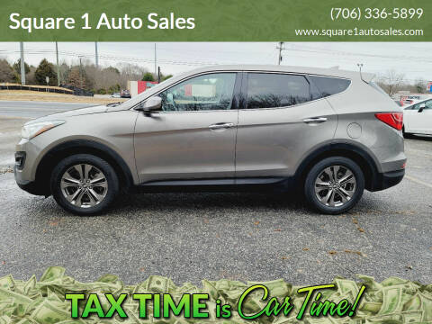 2013 Hyundai Santa Fe Sport for sale at Square 1 Auto Sales - Commerce in Commerce GA
