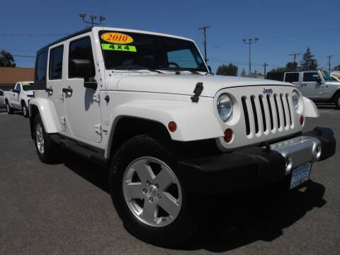 2010 Jeep Wrangler Unlimited for sale at McKenna Motors in Union Gap WA