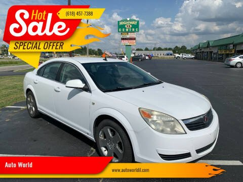 2009 Saturn Aura for sale at Auto World in Carbondale IL