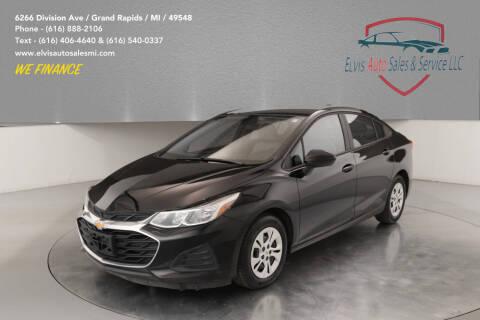 2019 Chevrolet Cruze for sale at Elvis Auto Sales LLC in Grand Rapids MI