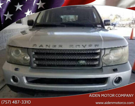 2007 Land Rover Range Rover Sport for sale at Aiden Motor Company in Portsmouth VA
