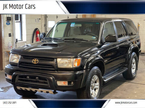 2002 Toyota 4Runner for sale at JK Motor Cars in Pittsburgh PA
