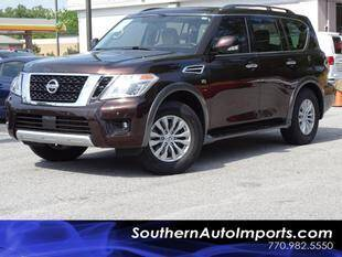 2018 Nissan Armada for sale at Used Imports Auto - Southern Auto Imports in Stone Mountain GA