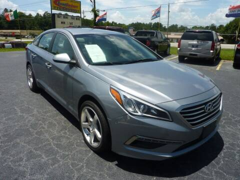 2015 Hyundai Sonata for sale at Roswell Auto Imports in Austell GA