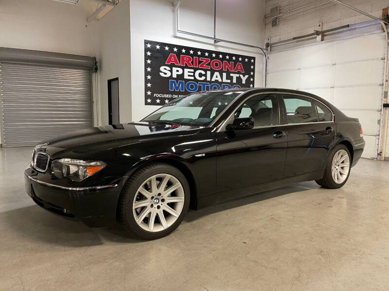 2004 BMW 7 Series for sale at Arizona Specialty Motors in Tempe AZ