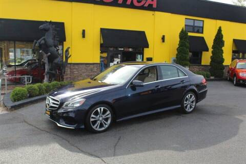 2016 Mercedes-Benz E-Class for sale at Auto Exotica in Red Bank NJ