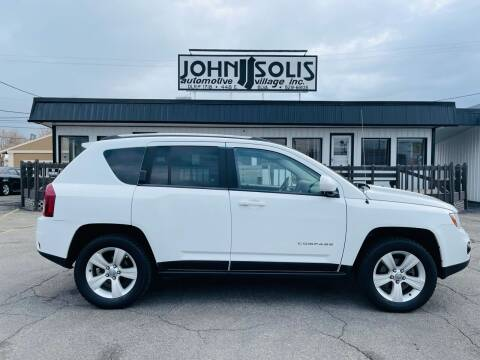 2014 Jeep Compass for sale at John Solis Automotive Village in Idaho Falls ID
