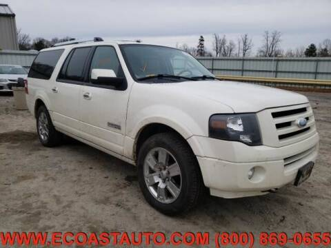 2008 Ford Expedition EL for sale at East Coast Auto Source Inc. in Bedford VA