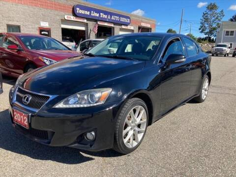 2012 Lexus IS 250 for sale at AutoCredit SuperStore in Lowell MA