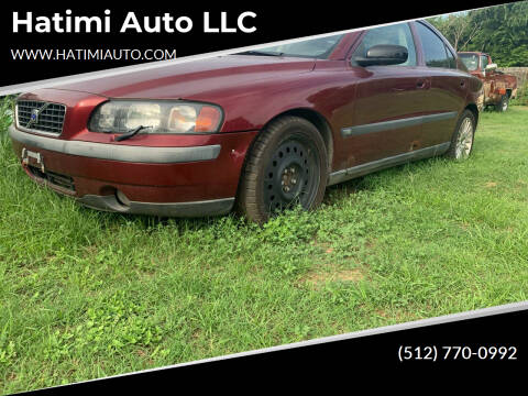 2003 Volvo S60 for sale at Hatimi Auto LLC in Buda TX