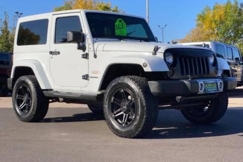 2012 Jeep Wrangler for sale at Island Auto Off-Road & Sport in Grand Island NE