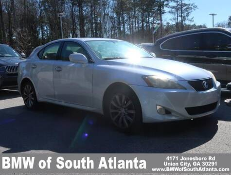 2007 Lexus IS 250 for sale at Carol Benner @ BMW of South Atlanta in Union City GA