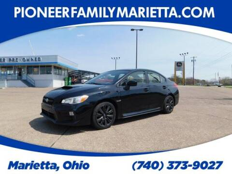 2018 Subaru WRX for sale at Pioneer Family preowned autos in Williamstown WV