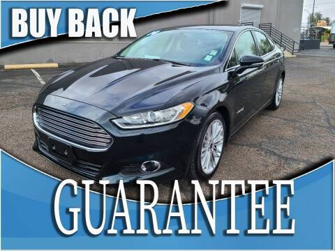 2014 Ford Fusion Hybrid for sale at Reliable Auto Sales in Las Vegas NV