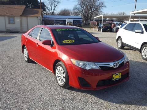 2014 Toyota Camry for sale at Bostick's Auto & Truck Sales in Brownwood TX