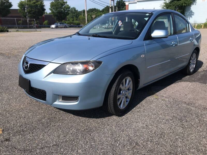 2007 Mazda MAZDA3 for sale at D'Ambroise Auto Sales in Lowell MA