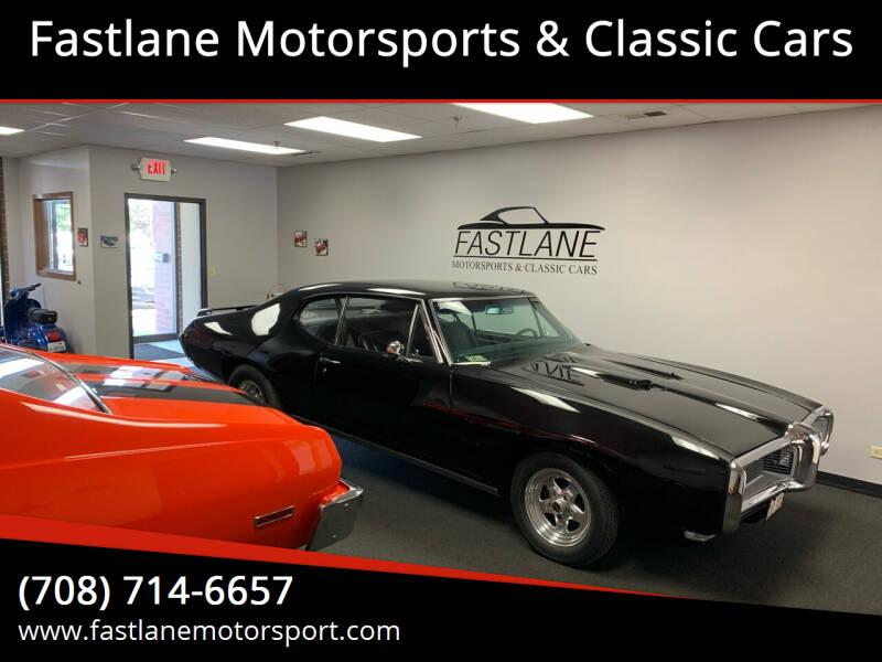 1968 Pontiac Le Mans for sale at Fastlane Motorsports & Classic Cars in Addison IL