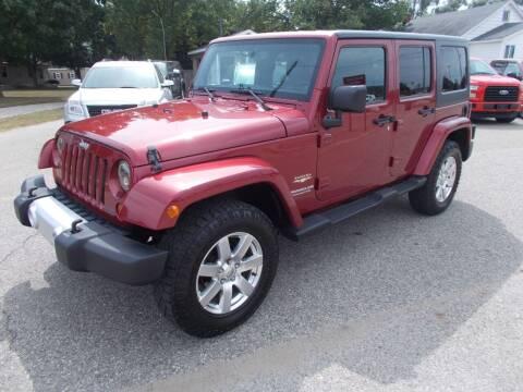 2013 Jeep Wrangler Unlimited for sale at Jenison Auto Sales in Jenison MI