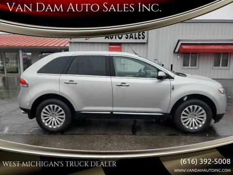 2013 Lincoln MKX for sale at Van Dam Auto Sales Inc. in Holland MI