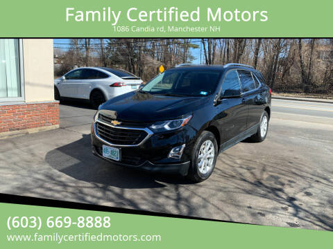 2019 Chevrolet Equinox for sale at Family Certified Motors in Manchester NH