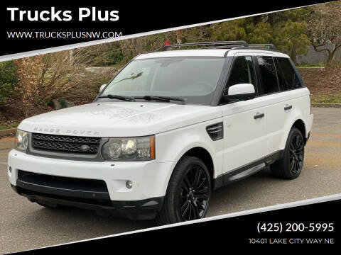 2011 Land Rover Range Rover Sport for sale at Trucks Plus in Seattle WA