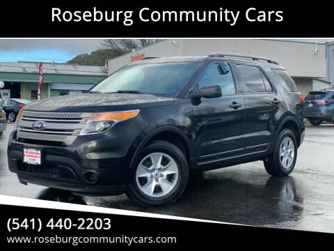 2014 Ford Explorer for sale at Roseburg Community Cars in Roseburg OR
