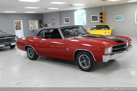 1971 Chevrolet Chevelle for sale at Corvette Mike New England in Carver MA