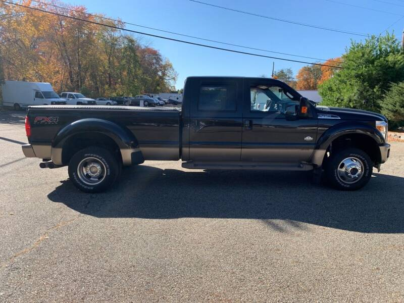 2013 Ford F-450 Super Duty 4x4 King Ranch 4dr Crew Cab 8 ft. LB DRW Pickup - Newfoundland NJ