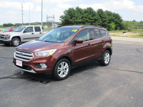 2018 Ford Escape for sale at Plainfield Auto Sales, LLC in Plainfield WI