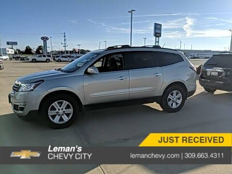 2014 Chevrolet Traverse for sale at Leman's Chevy City in Bloomington IL
