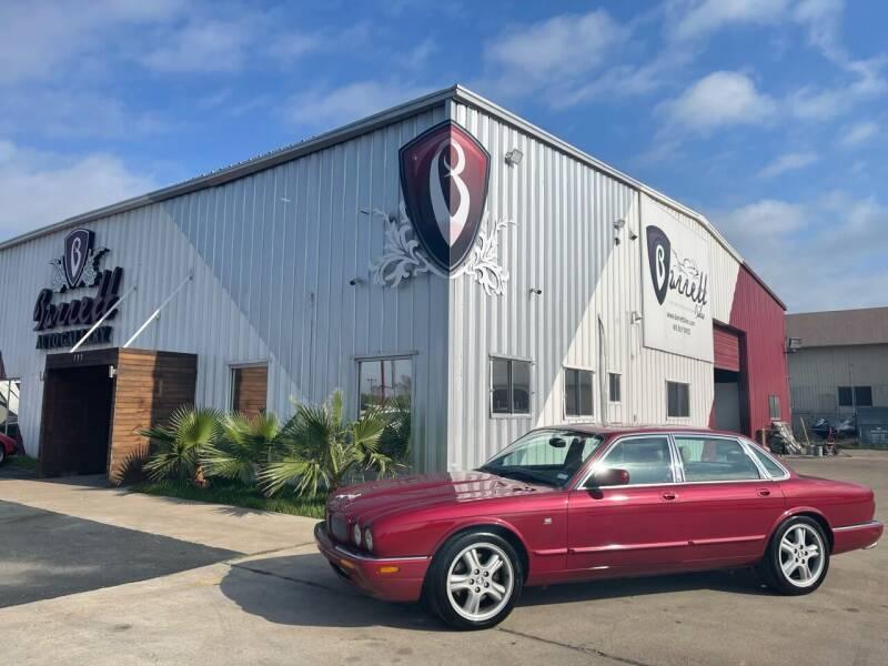 1999 Jaguar XJR for sale at Barrett Auto Gallery in San Juan TX