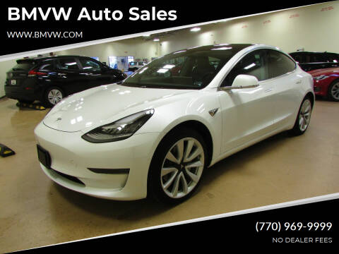 2020 Tesla Model 3 for sale at BMVW Auto Sales - Electric Vehicles in Union City GA