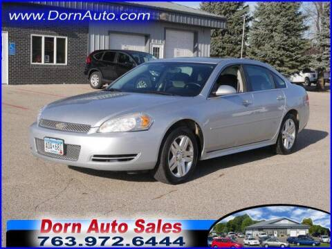 2012 Chevrolet Impala for sale at Jim Dorn Auto Sales in Delano MN