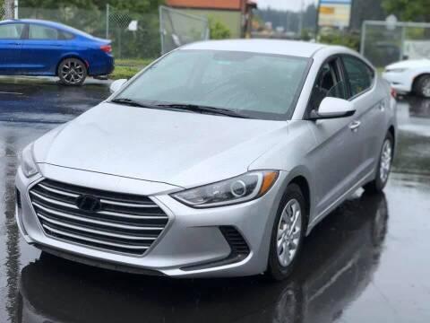 2017 Hyundai Elantra for sale at ALHAMADANI AUTO SALES in Spanaway WA