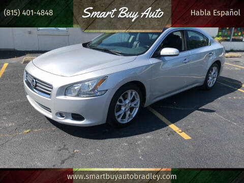 2014 Nissan Maxima for sale at Smart Buy Auto in Bradley IL