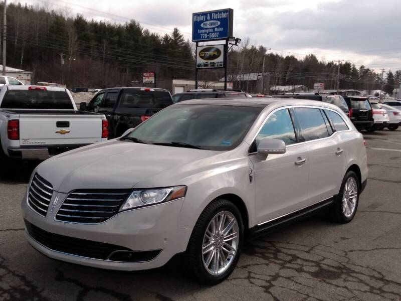 2019 Lincoln MKT for sale at Ripley & Fletcher Pre-Owned Sales & Service in Farmington ME