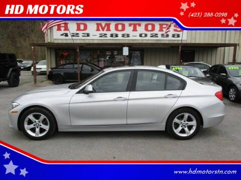 2013 BMW 3 Series for sale at HD MOTORS in Kingsport TN
