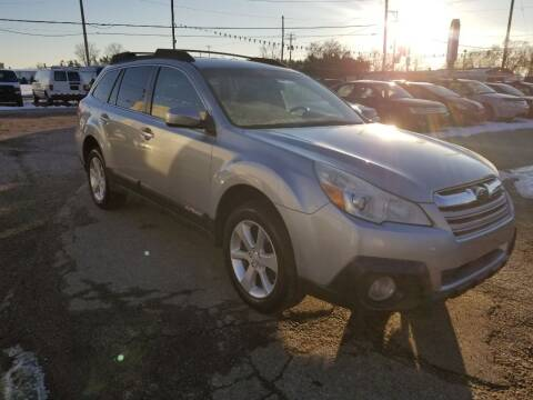 2013 Subaru Outback for sale at Premier Automotive Sales LLC in Kentwood MI