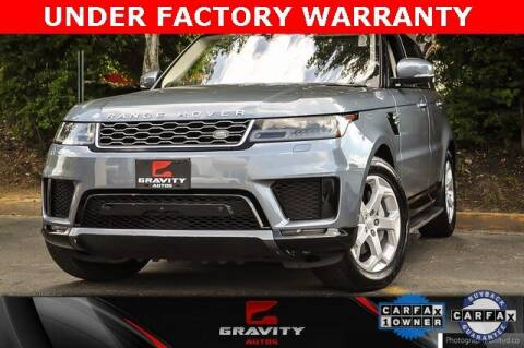 2018 Land Rover Range Rover Sport for sale at Gravity Autos Atlanta in Atlanta GA
