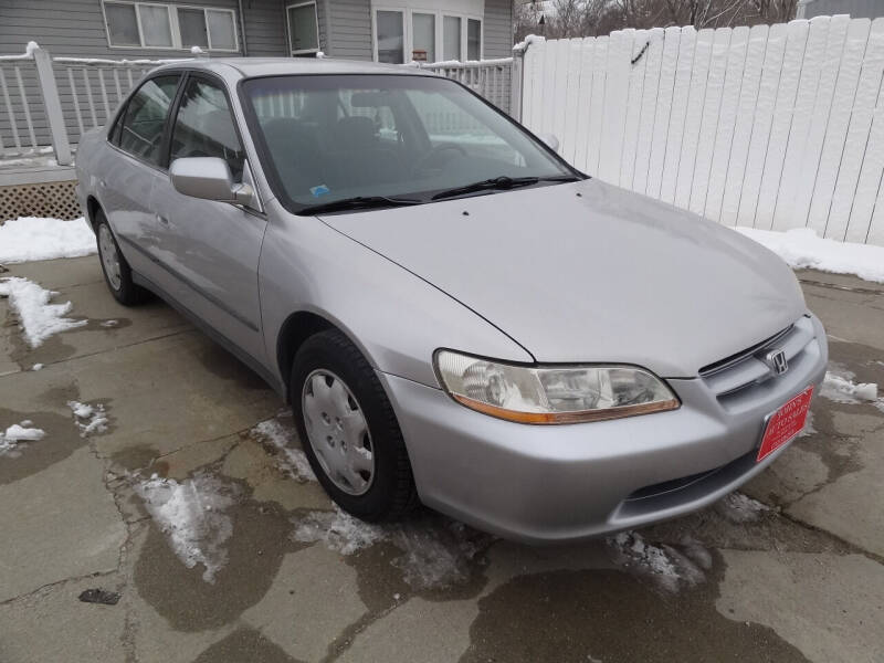 1999 Honda Accord for sale at John's Auto Sales in Council Bluffs IA
