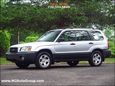 2004 Subaru Forester for sale at M2 Auto Group Llc. EAST BRUNSWICK in East Brunswick NJ
