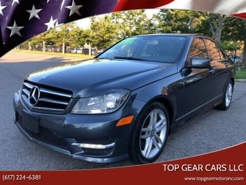 2014 Mercedes-Benz C-Class for sale at Top Gear Cars LLC in Lynn MA