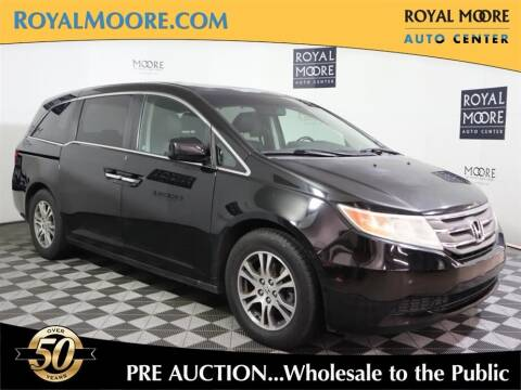 2011 Honda Odyssey for sale at Royal Moore Custom Finance in Hillsboro OR
