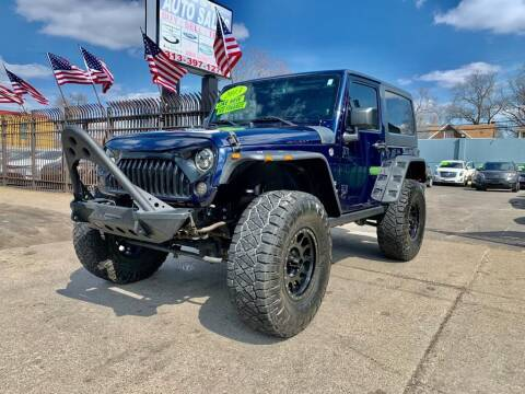 2013 Jeep Wrangler for sale at Gus's Used Auto Sales in Detroit MI
