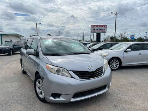 2012 Toyota Sienna for sale at Jamrock Auto Sales of Panama City in Panama City FL