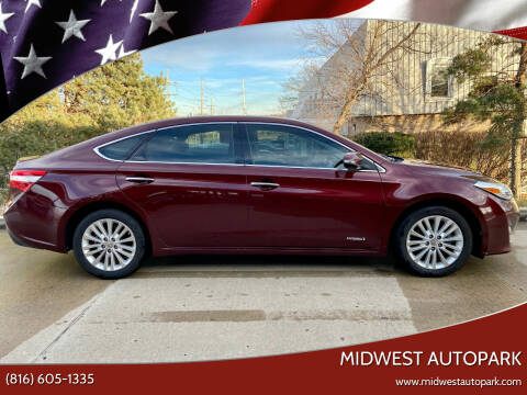 2013 Toyota Avalon Hybrid for sale at Midwest Autopark in Kansas City MO
