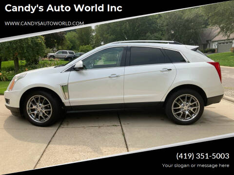 2014 Cadillac SRX for sale at Candy's Auto World Inc in Toledo OH