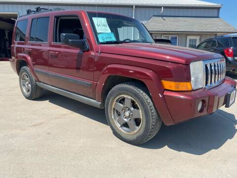 2007 Jeep Commander for sale at BERG AUTO MALL & TRUCKING INC in Beresford SD